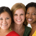 women-smiling-together