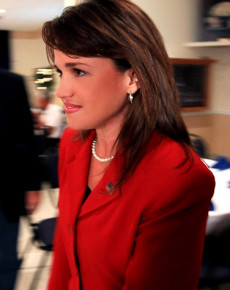 Tea Party Delaware Senate Candidate Christine O'Donnell Votes In Primary